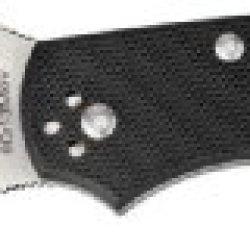 Byrd Cara Cara G-10 Combination Edge Knife, Black