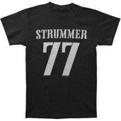 Joe Strummer Men'S '77 T-Shirt Medium Black