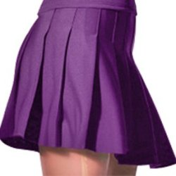 "Alleson Athletic Women'S Knife Pleat Cheerleaders Uniform Skirts 38.5-39""W Purple"