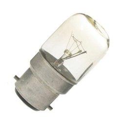 Eveready 15W Pygmy Light Bulbs, Bayonet Cap B22 Bc B22D 240V, Clear Sewing Machine/Appliance Lamps/Night Light/General Purpose Lightbulbs, Mains 240V - [Eu Specification: 220-240V]