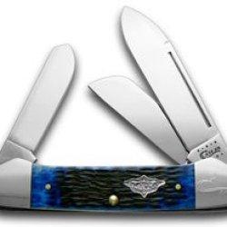 Case Xx Blue Gunboat Canoe 1/100 Vintage Series Pocket Knife Knives