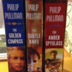 His Dark Materials The Trilogy By Philip Pullman The Golden Compass (Book I)/The Subtle Knife (Book Ii)/The Amber Spyglass(Book Iii) In Slip Case