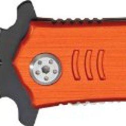 """Tac Force Knives 554Em Misc 3.5"""" Rescue Knife With Ems Orange Handles"""