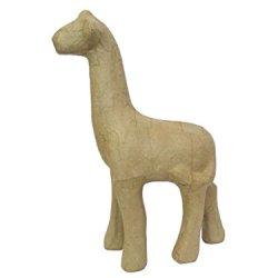 Paper Mache Giraffe 11 In. By Craft Pedlars