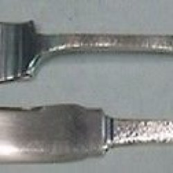 Pattern A By Gorham Sterling Fish Knife & Fork Set Beautiful Group