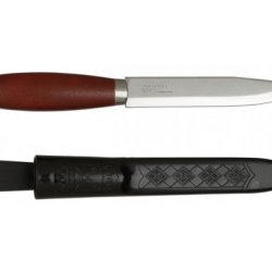 Morakniv Classic Craftsmen 611 Utility Knife With Carbon Steel Blade And Finger Guard, 3.9-Inch