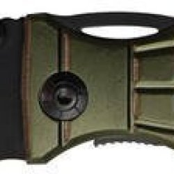 Mtech Knives 505Rg Grenade Rescue Linerlock Knife With Grenade Shaped Od Green Aluminum Handles