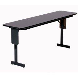 "60"" Rectangular Folding Table Finish: Dove Gray"