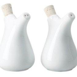 Kahla Five Senses Salt Flask, White Color, 1 Piece