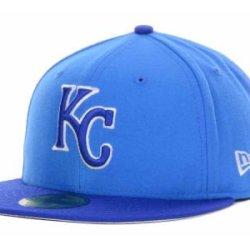 Kansas City Royals Mlb Authentic Baseball Cap 7-3/8 Osfa - Like New