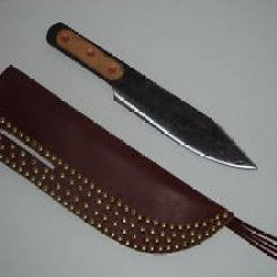 """Custom Leather Sheath For The 12"""" Throwing Knife"""