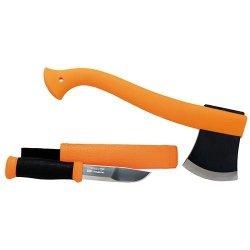 Mora Outdoor Kit Orange Fixed Blade Knife M-12096