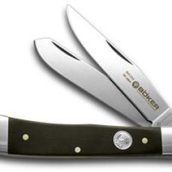 Boker Tree Brand 145Th Anniversary Grenadill Wood 1/145 Trapper Pocket Knife Knives