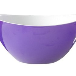 Kdg International Omada Trendy Salad Bowl, 10-Inch, Large, Plum