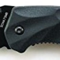 Schrade Scha7Smb Mini M.A.G.I.C. Assisted Opening Liner Lock Folding Knife, Black