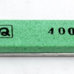 "Chosera 400 Edge Pro Stone, 1""X6"" X 5Mm With Aluminum Mounting"