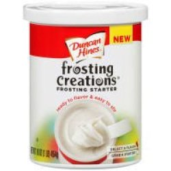 Duncan Hines Frosting Creations Frosting Starter