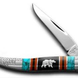 Schatt & Morgan David Yellowhorse Grizzly 1/100 Toothipck Pocket Knife Knives