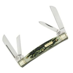 Colt Knives 240 Congress Pocket Knife With Genuine Black Stag Handles