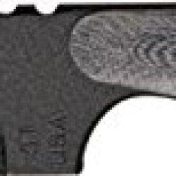 Shadow Tech Talon E Clip Fixed Knife, Black Powder Coated 1095 Carbon Steel Clip Blade, Sttebpbg
