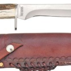 "Silver Stag Sv1118 Knives Fixed Knife Alaskan Camper 18"" Overall 10 3/4"" Blade"
