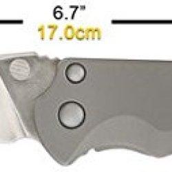 Maxpedition Excelsa Small Framelock Folding Knife, D2 Blade, Titanium Handle Frmlcks