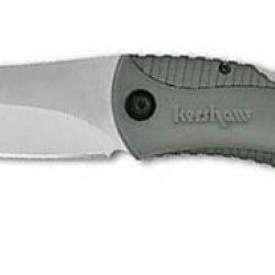 Kershaw 1090Gh Northside Hunter Folding Knife W/Black Handle And Gut Hook
