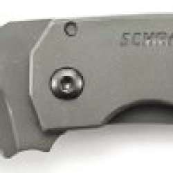 Schrade Sch304Ms Mini Frame Lock Partially Serrated Folding Knife