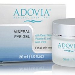 Adovia Eye Cream - Powerful Eye Gel For Eye Puffiness, Dark Circles And Wrinkles By Adovia Mineral Skin Care - Reduce Appearance Of Fine Lines & Wrinkles Around The Eyes - With Dead Sea Salt & Minerals, Vitamin C And Vitamin A Retinol