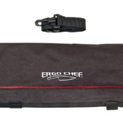 Ergo Chef 9-Pocket Professional Soft Knife Roll Bag