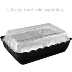 Raised Lid For Large Salad Crock