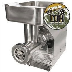 Commercial Grade 1 Hp Electric Meat Grinder And Sausage Stuffer (Weston # 08-2201-W)