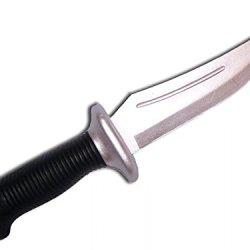 "Swordmaster - 10.75"" Rubber Tactical Training Knife"