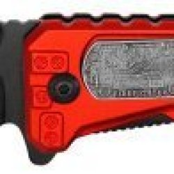 Assisted Opening Firefighter 'Hero' Rescue Folding Knife