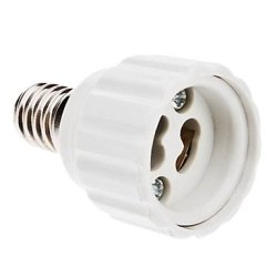 E14 To Gu10 Led Bulbs Socket Adapter