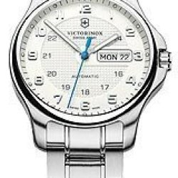 Victorinox Swiss Army Officer'S Day/Date Mechanical With Pocket Knife Men'S Watch #241548.1