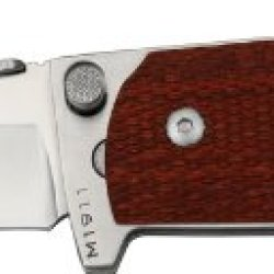 Ultimate Equipment Compact Canada Knife M1911 Rosewood