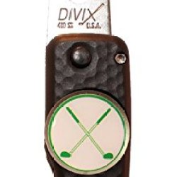 Dx Switchblade Divot Repair Tool Crossed Clubs Black | Made In Usa