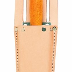 Custom Leathercraft 67 Box-Shaped Utility Knife Sheath, Top Grain Leather