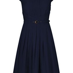 Eshakti Women'S Olivia Dress S-4 Regular Deep Navy