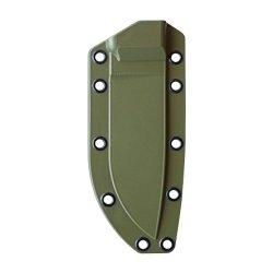 Esee Knives Olive Drab Molded Sheath & Belt Clip Plate For Model 4 Knife
