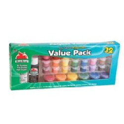 Plaid Apple Barrel Primary Colors Paint Set