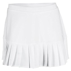 Fila Pleated Knit Skorts, White, Large