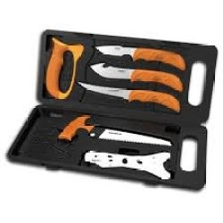 Outdoor Edge Wild-Pak Game Processing Set Plus Game Shears By Outdoor Edge