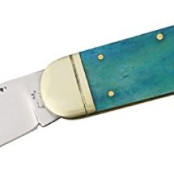 Frost Sunfish Cancun Blue Folding Knife,Stainless Spear And Pen Blade, Cancun Blue Smooth 14961Cbs