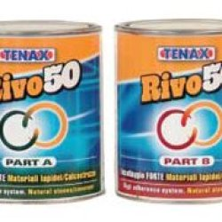 Tenax 1Rha00Bg50 Rivo 50 A And B Grade Knife Epoxy, 1L Capacity, Straw