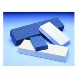 "Norton Single Grit Abrasive Benchstone, Aluminum Oxide, 4"" Length X 1"" Width X 1/4"" Height, Grit Medium (Pack Of 5)"
