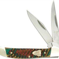 Steel Warrior Pocket Knife Copperhead Frostwood Sw-142Fw