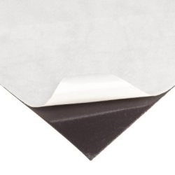 """Flexible Magnet Sheet With Adhesive, 0.030"""" Thick, 12"""" Wide, 24"""" Length (1 Sheet Rolled Inside Tube)"""