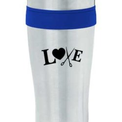 16Oz Mug With Stainless Steel Liner Blue